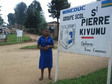 Ecole primaire Kivumu au Rwanda