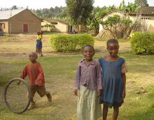 Enfants vulnérables et enfants des rues de Gisenyi au Rwanda