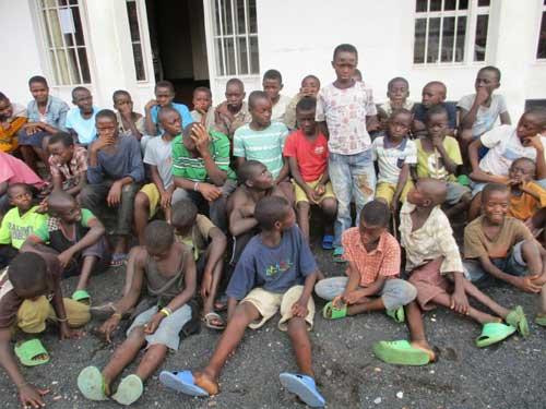 Journée de rassemblement des enfants des rues de Gisenyi au Rwanda