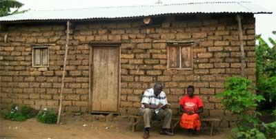 Maison d'une fratrie d'orphelins réhabilitée par le Point d'Ecoute