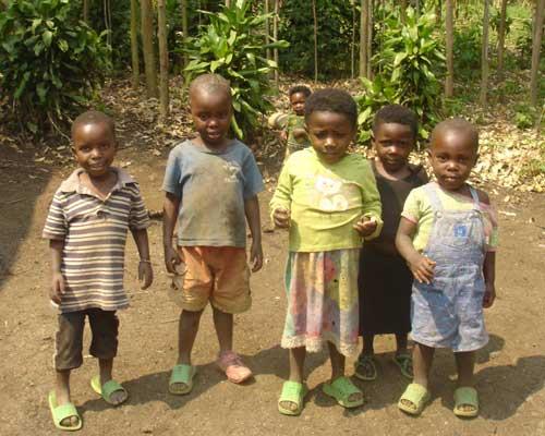 Orphelins d'Afrique, les enfants vulnérables de Gisenyi au Rwanda