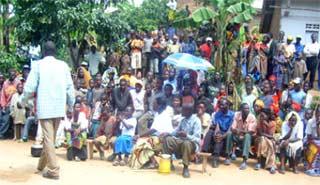 Pièce de théâtre éducative au Rwanda