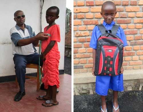 Confection des uniformes scolaires au Rwanda