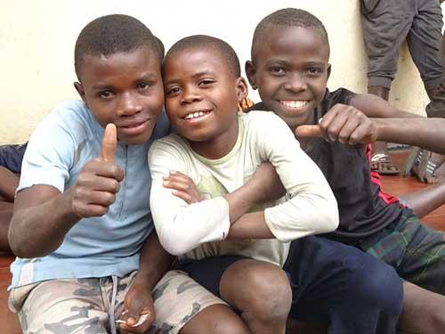Enfants des rues du Rwanda