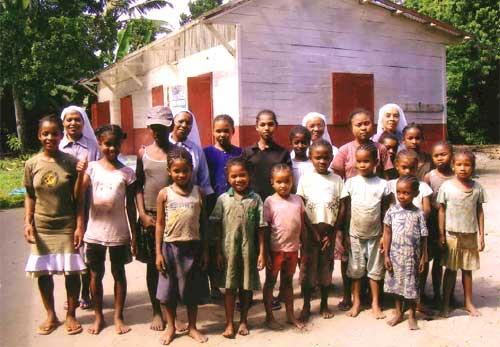 Les enfants de l'orphelinat d'Amboangibe