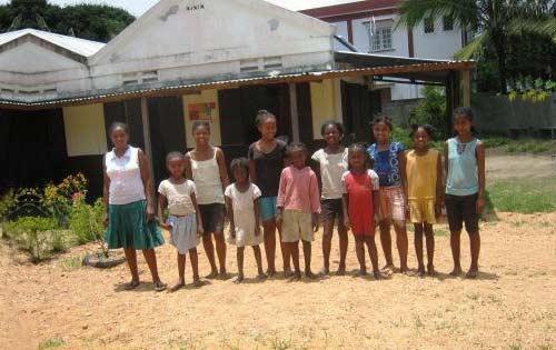 Les enfants de l'orphelinat de Sambava
