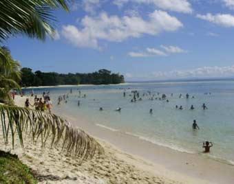 Plage de l'Ile Ste Marie à Madagascar