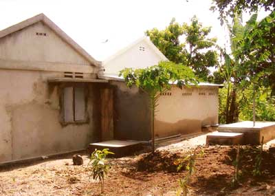 Bloc sanitaire de l'orphelinat de Sambava