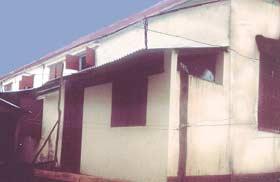 L'orphelinat de l'Ile Ste Marie avant extension du dortoir