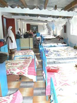 Le nouveau dortoir de l'orphelinat Saint Joseph