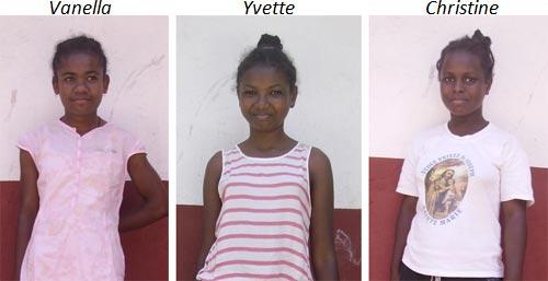Enfants de l'Orphelinat de l'Ile Ste Marie lauréates du CEPE à Madagascar