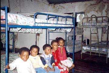 l'orphelinat Saint Joseph sur l'�le Sainte Marie � Madagascar