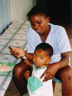 l'orphelinat Sainte Marie � Madagascar