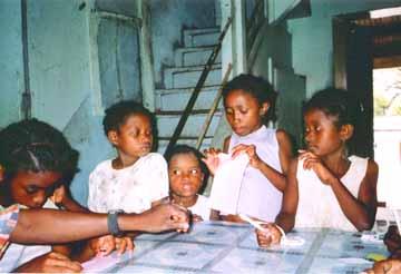 l'orphelinat Sainte Marie à Madagascar