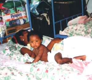 l'orphelinat Saint Joseph à Madagascar