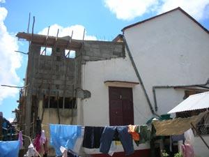 Travaux de rénovation à l'orphelinat St Joseph sur l'Ile Ste Marie