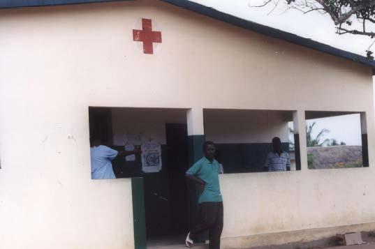 Dispensaire à Ati-Atovou au Togo