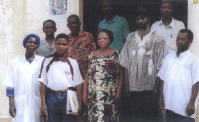 Dispensaire à Batoumé au Togo
