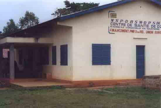 Dispensaire à Zolo au Togo