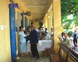 SOS Enfants aide dentaire au VietNam