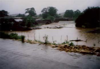Le cyclone Indlala sur Madagascar