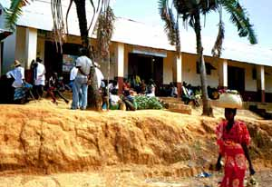 L'hôpital de Befotaka à Madagascar
