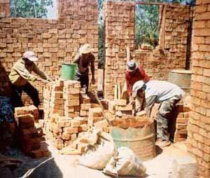 Travaux de construction des salles de classes