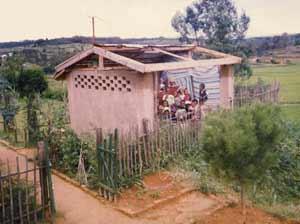 Le centre Akany Aina après le passage du dernier cyclone