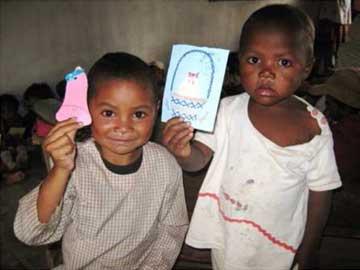 Oeufs de Pâques pour les enfants d'Akany Aina