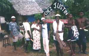 Réception du matériel nécesssaire au chantier de construction de l'école d'Ambodirafia