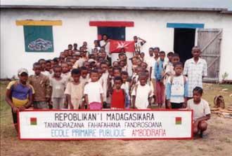 à Madagascar, l'école d'Ambodirafia et ses élèves