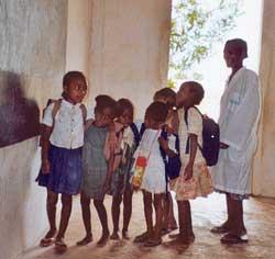 Enseignant malgache