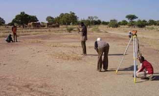 Aménagement de route à Guiè, Burkina Faso