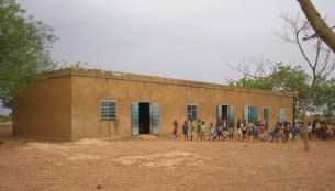 L'école primaire de Guiè A au Burkina Faso