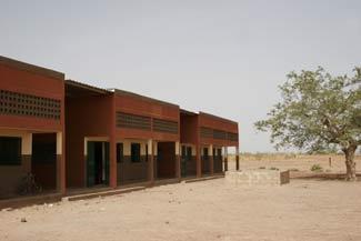 L'école primaire de Guiè B au Burkina Faso