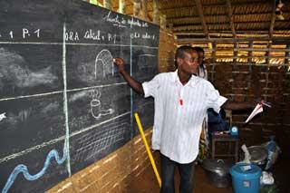 Classe ORA au campement de Bandevouri, Cameroun