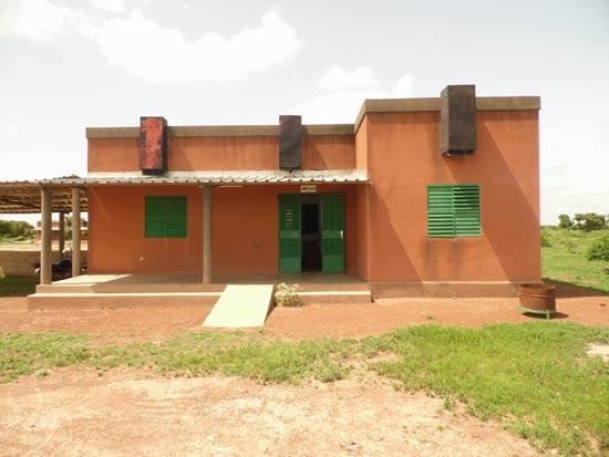Construction d'un bloc administratif pour le collège de Guiè au Burkina Faso
