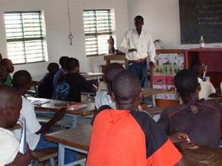 Fomration professionnelle des jeunes apprentis à Guiè, Burkina Faso