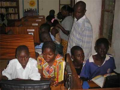 Initiation à l'informatique pour les élèves de Guiè