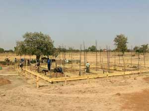 Etude du site et du plan de la maternité de Guiè, Burkina Faso