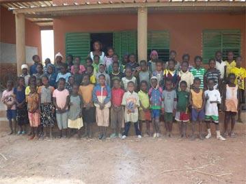 Elèves d'école primaire au Burkina Faso