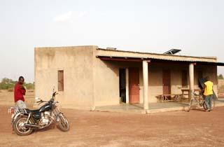 Le Poste de Santé Primaire à Guiè, Burkina Faso