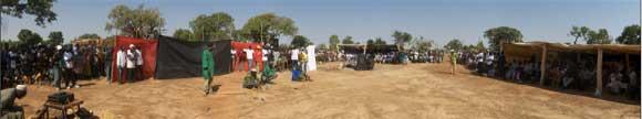 La fête des Ruralies à Guiè Burkina Faso