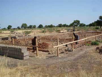 Débmarrage de la construction d'un collège à Guiè