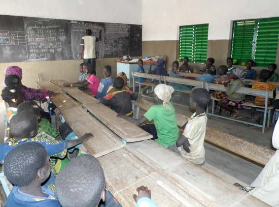 L'école de Koulmastanga au Burkina Faso
