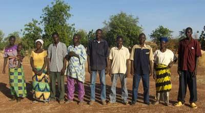 Les membres du Bureau de l'Association Tenkeega