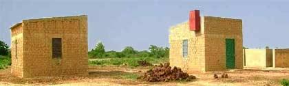 Les cases pour hôtes de passage, Ferme Pilote de Goèma, Burkina Faso