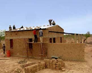 Construction du logement de fonction de la Ferme Pilote de Goèma, Burkina Faso