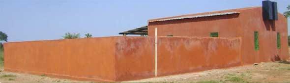 Le logement de fonction et le magasin-bureau, Ferme Pilote de Goèma, Burkina Faso
