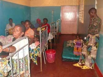 La salle post-accouchement de la maternité de Kirundo au Burundi